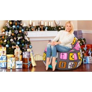 Бескаркасная мебель-лучший подарок на Новый год
