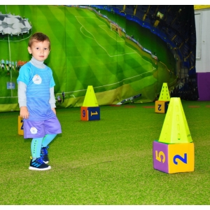 Продукция ТМ «Тиа-Спорт» для обустройства детского спортивного клуба «Footbik»