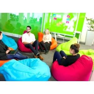 Кресло мешки для совещаний и переговоров в офисе