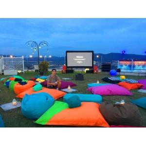 Бескаркасная мебель для мероприятий под открытым небом