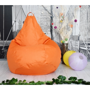 Оранжевые кресло-мешки – встречаем осень!