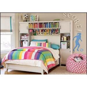 Бескаркасная мебель для подростковой комнаты