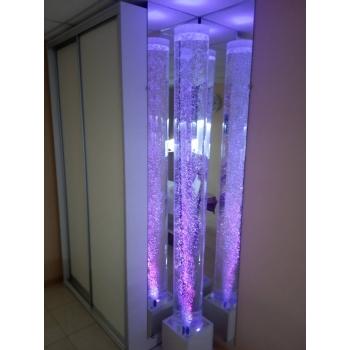 Пузырьковая колонна для сенсорной комнаты на подставке TIA-SPORT