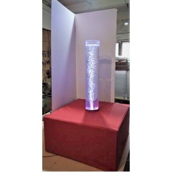 Пузырьковая колонна для сенсорной комнаты с пуфом TIA-SPORT