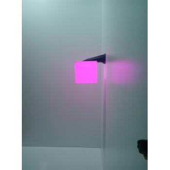 Настенный светильник Куб 20х20см с RGB подсветкой TIA-SPORT