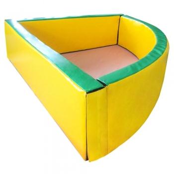 Сухой бассейн угловой 150х40 см TIA-SPORT