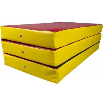Мат складной 150-100-10 см с 3-х частей TIA-SPORT