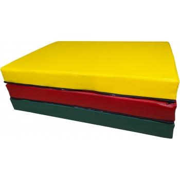 Мат складной 200-100-10 см с 3-х частей TIA-SPORT