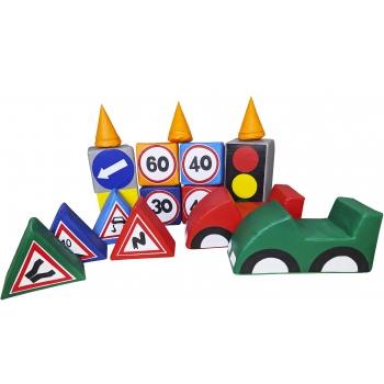 Игровой набор Правила дорожного движения TIA-SPORT