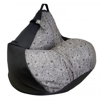 Кресло груша Принт Микс TIA-SPORT
