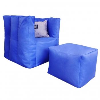 Комплект мебели Люкс (кресло и пуф) TIA-SPORT