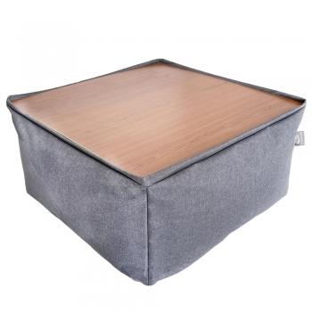Бескаркасный модульный Пуф-столик Блэк TIA-SPORT