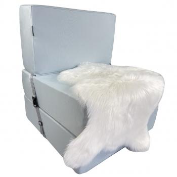 Бескаркасное кресло раскладушка Поролон TIA-SPORT