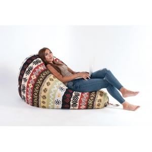 Как сидеть на кресле-мешке
