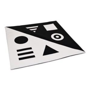 Коврик-мат черно-белый TIA-SPORT