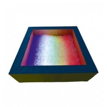 Сухой бассейн с подсветкой квадратный 200х60х20 см TIA-SPORT