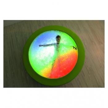 Сухой бассейн с подсветкой круглый 150х40 см TIA-SPORT