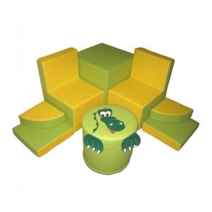 Детская игровая мебель для детских садов и развивающих зон