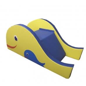 Модуль горка-ступеньки Рыбка Тia-sport