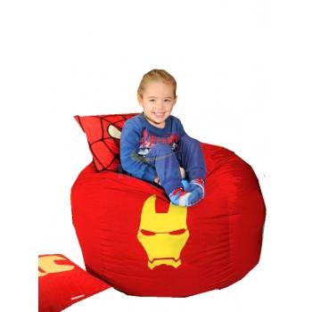 Кресло мешок мяч Железный человек TIA-SPORT