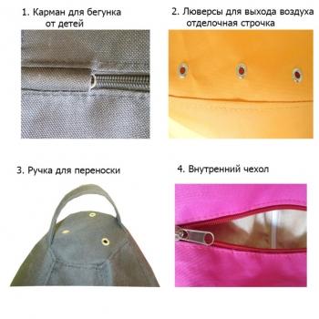 Кресло мешок Ежик Смешарики TIA-SPORT