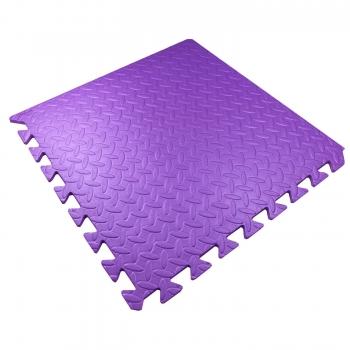 Мягкий детский пол 51х51х1см Малыш TIA-SPORT фиолетовый