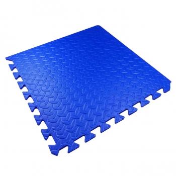 Мягкий детский пол 51х51х1см Малыш TIA-SPORT синий