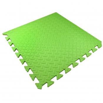 Мягкий детский пол 51х51х1см Малыш TIA-SPORT зеленый