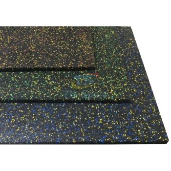 Резиновое покрытие с ЭПДМ-гранулами 500х500 мм TIA-SPORT