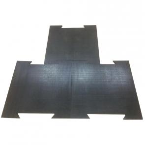 Резиновая плитка с креплением ласточкин хвост 700х700 мм TIA-SPORT