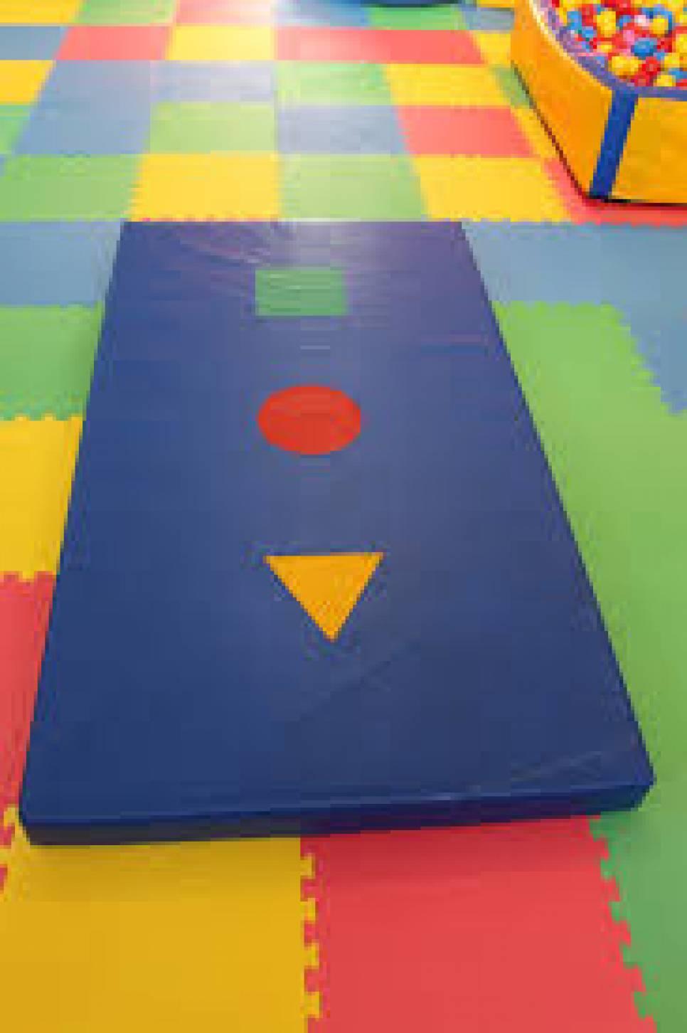 Детские развивающие маты - Мат Геометрия  200-100-5 см Тia-sport, фото [sm-0116]